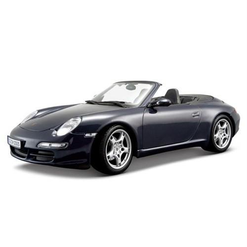 Maisto Porsche 911 Carrera S Cabriolet 1:18 Model Araba S/E Lacivert