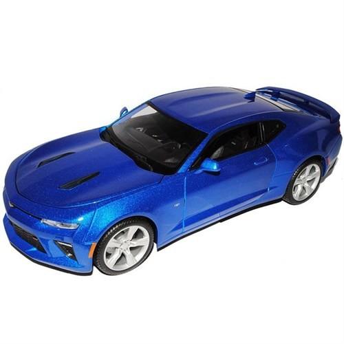 Maisto 1:18 2016 Chevrolet Camaro Ss S/E Model Araba Mavi