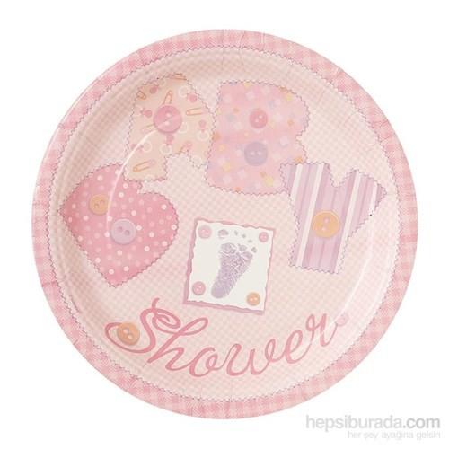 Balon Baby Pink Stitching Tabak 23 Cm