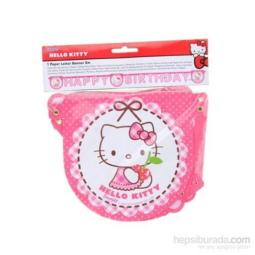 Balon Hello Kitty Hearts Happy Birthday Set