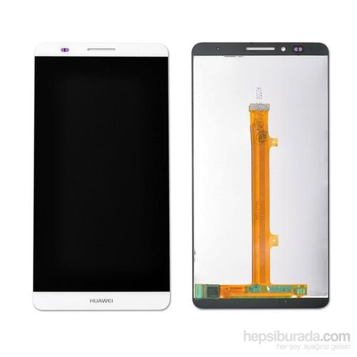 Huawei Ascend Mate 7 Dokunmatik Lcd Ekran Panel Beyaz