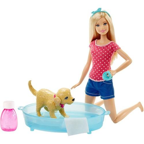 Barbie Ve Köpekçik Banyo Keyfi