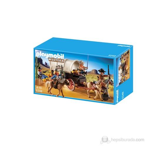 Playmobil Kapalı Vagon ve Raiders