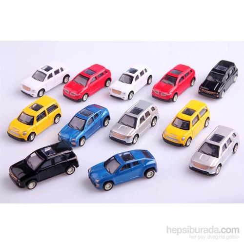 Nani Toys 12'li Çek Bırak Metal Araba Seti