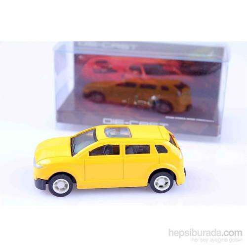 Nani Toys Sarı Diecast Metal Araba