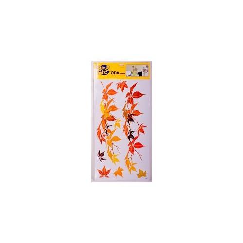 Deconation Salon Etiket Sonbahar Yaprakları