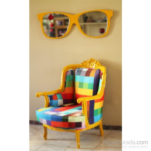 Raymond Sarı Gözlük Ayna