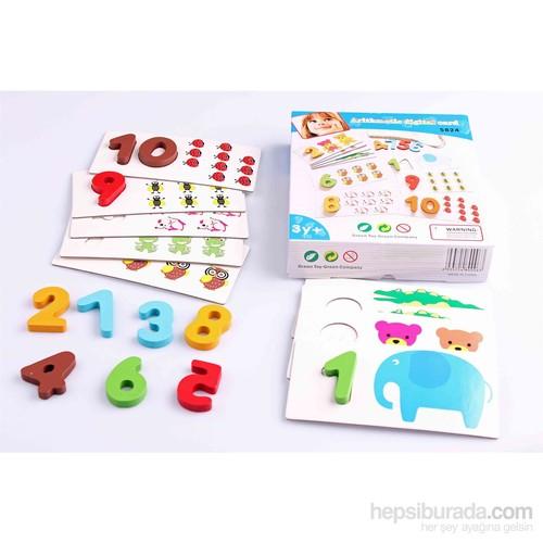 Nani Toys Ahşap Eğitici Aritmetik Sayı Oyunu