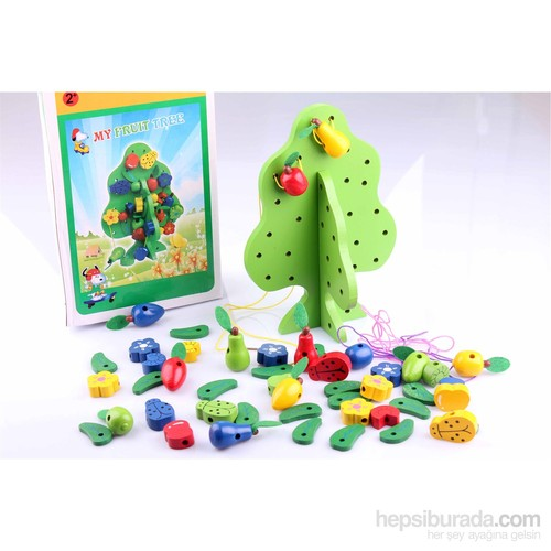 Wooden Toys Wooden My Fruit Tree