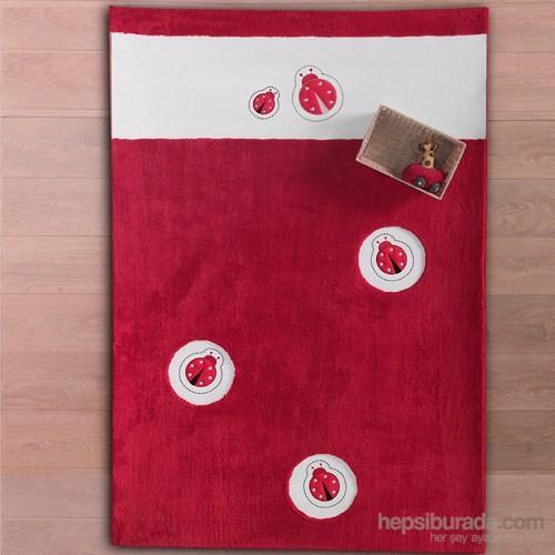 Kidboo Little Ladybug Bebek Odası Halısı 120X180 Cm