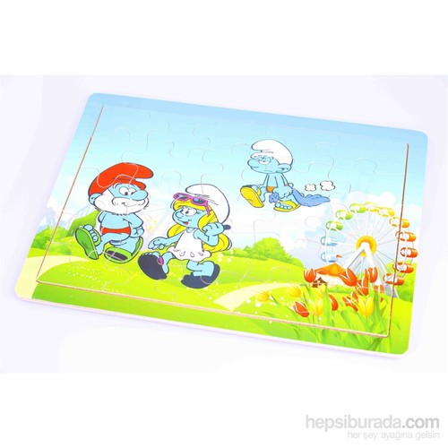 Wooden Toys Wooden Puzzle Set