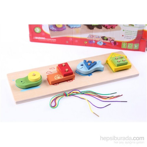 Wooden Toys Multipurpose Shape Pair Board