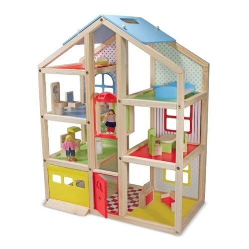 Melissa&Doug Ahşap Mobilyalı Ev