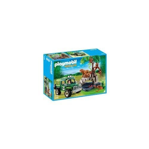 Playmobil Belgeselci Ve Arazi Taşıtı