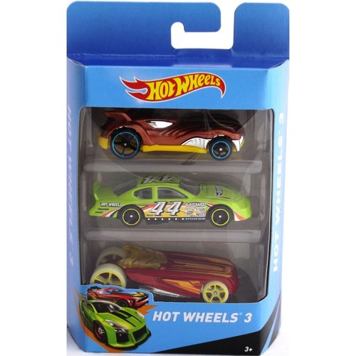 Hotwheels Üçlü Araba Seti Model 10