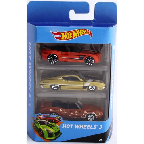 Hotwheels Üçlü Araba Seti Model 21