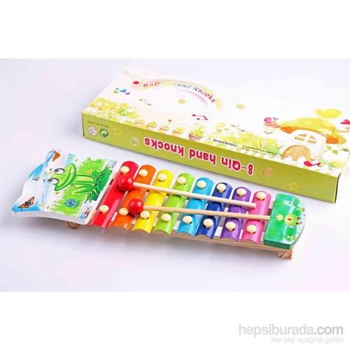 Nani Toys Renkli Ahşap Selefon