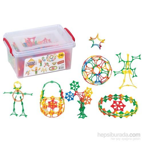 Dede Kelebek Puzzle Küçük Box / 240 Parça