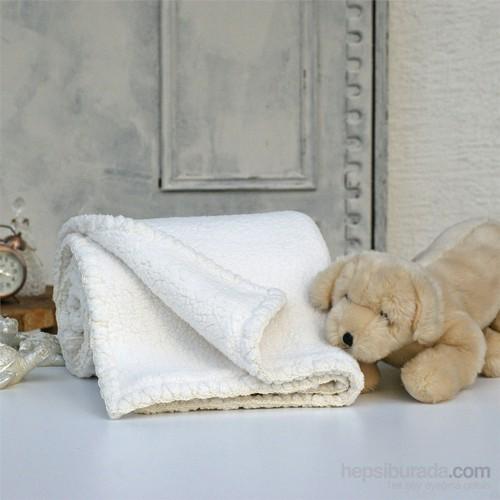 İkikız Çift Taraflı Koyun Tüyü Battaniye