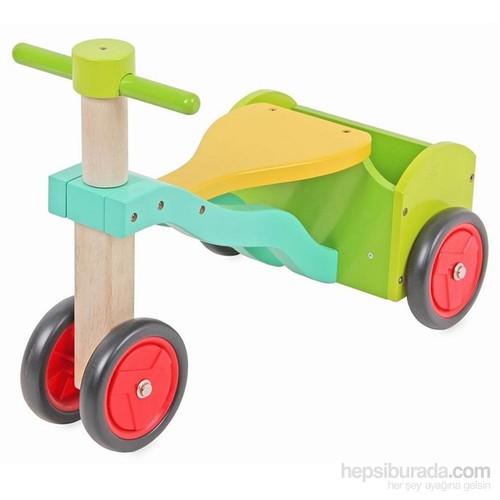 Vardem Eğitici Ahşap Scooter - Araba