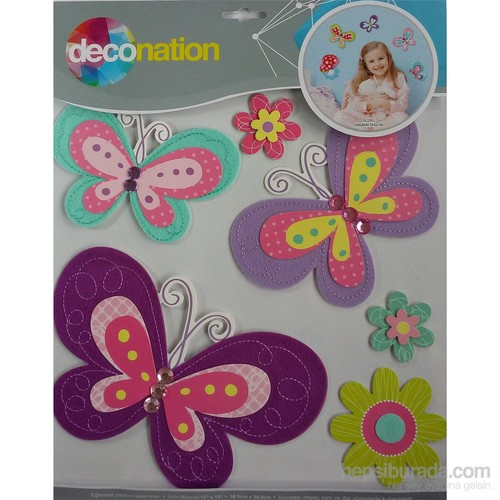 Stic&Stic Kelebek Renkleri Sticker