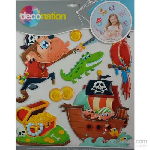 Stic&Stic Eğlenceli Korsanlar Sticker