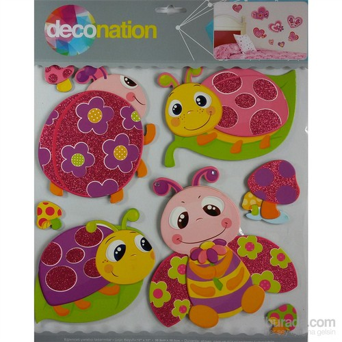 Stic&Stic Renkli Uğur Böceği Sticker