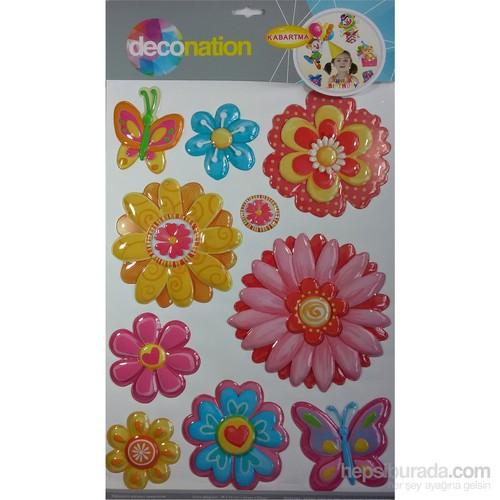 Stic&Stic Çiçeklerin Doğası Sticker