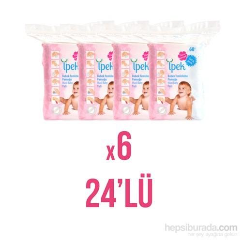 İpek Hidrofil Maxi Bebek Pedi 60'lı (24'lü Paket)