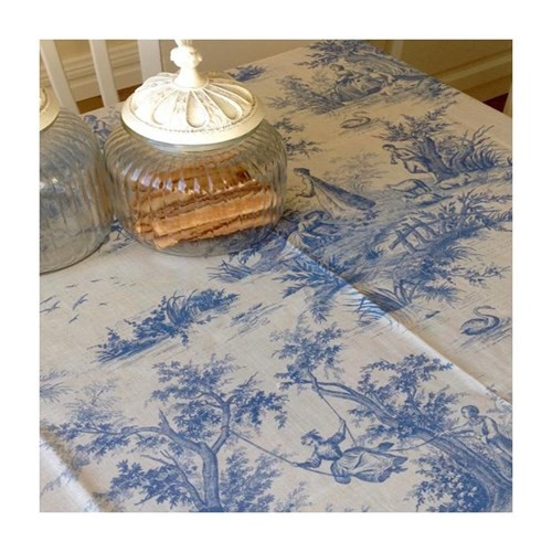 Mella Home Valencıa Masa Örtüsü-Mavi