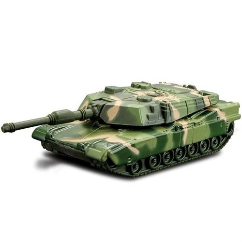 Maisto Metal Forces Askeri Savaş Aracı Tank Bravo 9 Cm Yeşil Kamuflaj