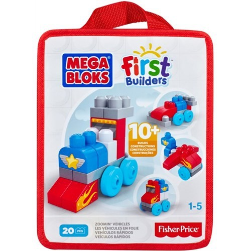 Mega Bloks First Builders Eğlenceli Blok Torbaları