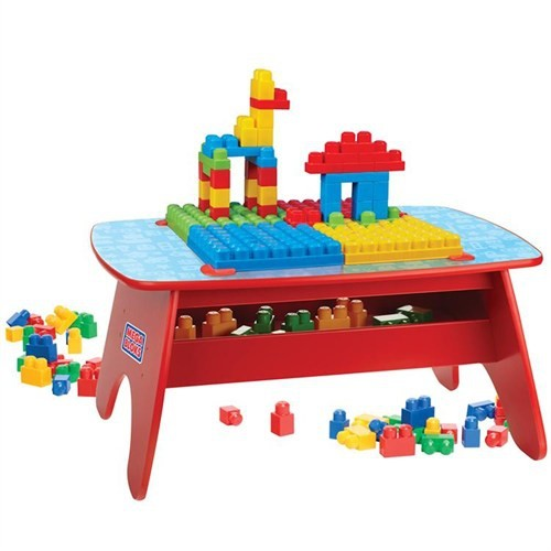 Mega Bloks Büyük Bloklar Oyun Masası