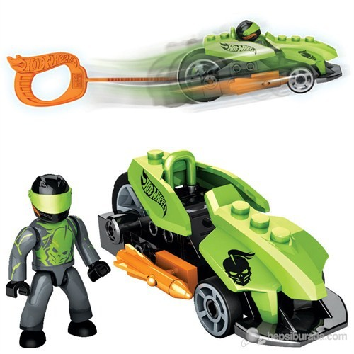 Mega Bloks Hot Wheels Çek Bırak Araba