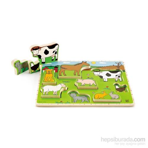 Hape Çiftlik Hayvanları Puzzle