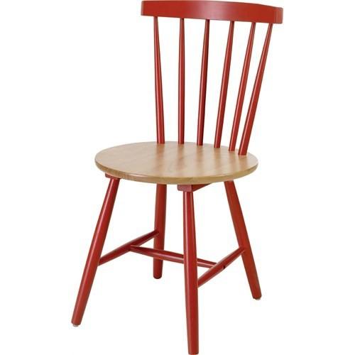 Sefes Melek Sandalye 4 Adet / Kırmızı