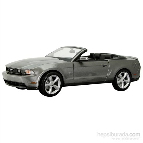 Ford Mustang Gt Convertible 2010 1:18 Gri