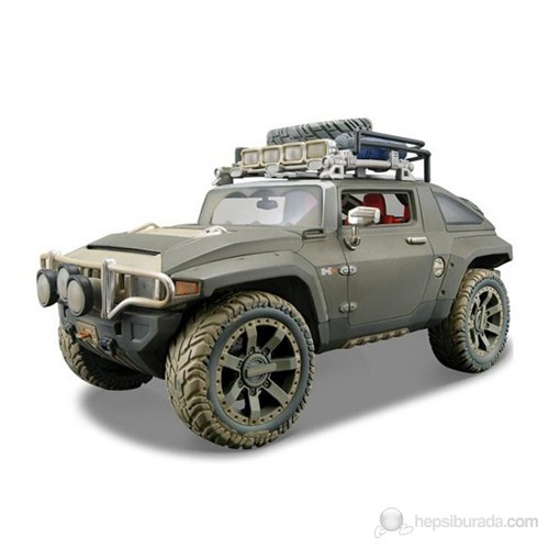 Maisto Hummer Hx Concept Model Araba 1:18 Dirt Riders / Yeşil
