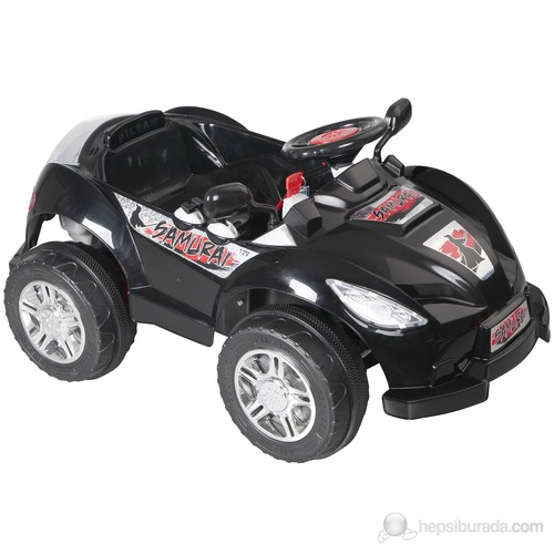 Pilsan Samuraı Akülü Araba 12 Volt Siyah