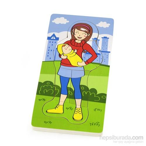 Vıga Toys Katlı Puzzle - Anne