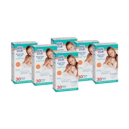 Bebedor Jelli Göğüs Pedi 30´Luk Paket (6 Al 4 Öde)