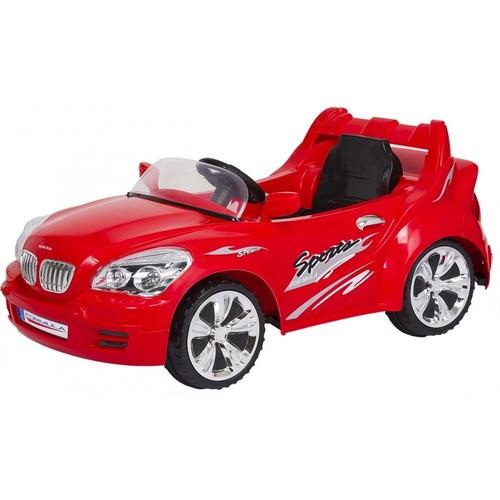 Baby2Go 6505 Akülü Araba - Kırmızı