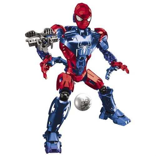 Mega Bloks The Amazing Spiderman Techbot Oyun Seti 91296