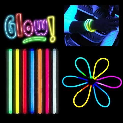 Bluezen Glow Stick Fosforlu Kırılan Çubuk (100 Adet)