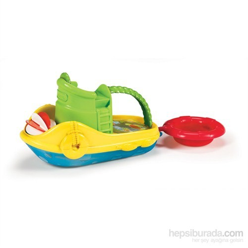 Munchkin Tug Along Boat Gemi Banyo Oyuncağı