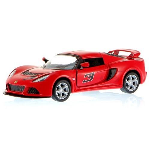 Kinsmart 2012 Lotus Exite S Kırmızı (1:32 Çek Bırak Araba)