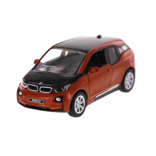 Kinsmart 1:32 Ölçekli Bmw İ3 Çek Bırak Model Araba (Bordo)