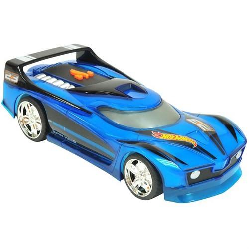 Hot Wheels Hareketli Sesli Ve Işıklı Renk Değiştiren Oyuncak Araba Mavi