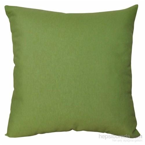 Deran Home Dekoratif Kırlent 40X40 Düz Renk - Koyu Yeşil