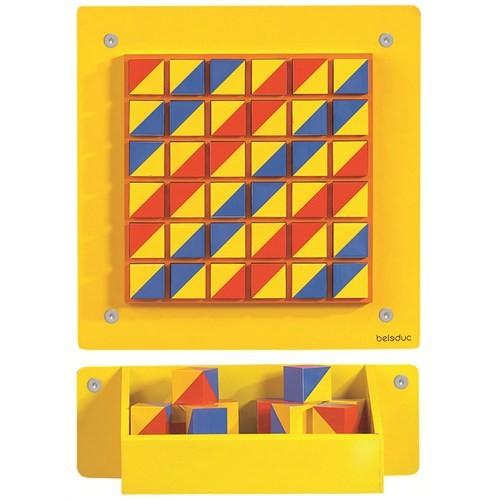 Beleduc Duvar Oyunu-Mozaik 40X40 Cm